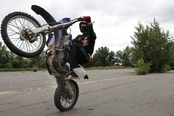 Une moto de cross (image d'illustration).