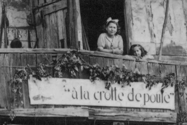 """L'une des guinguettes de Limoges s'appelait """"à la crotte de poule"""""""