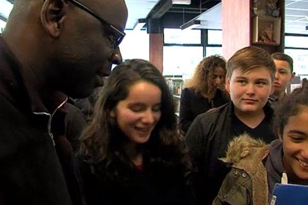 Lilian Thuram à la rencontre des jeunes hérouvillais ce mercredi