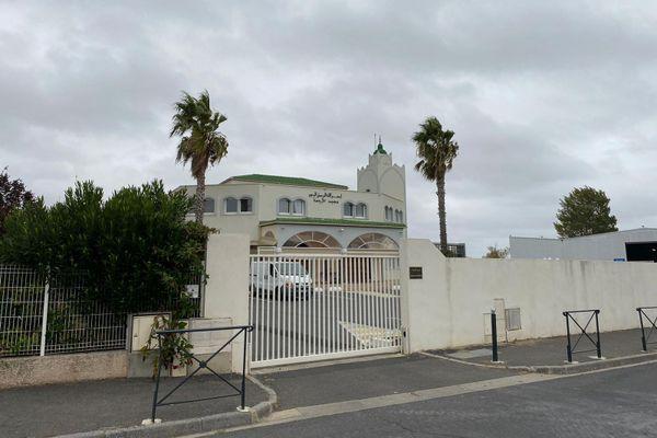 La mosquée Ar-Rahma à Béziers, victime de menaces sur les réseaux sociaux.