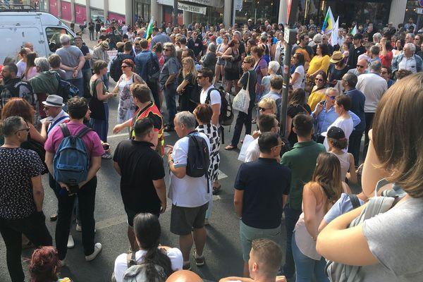 Plus de 300 manifestants ont dit non à l'implantation du Bastion Social à Clermont-Ferrand