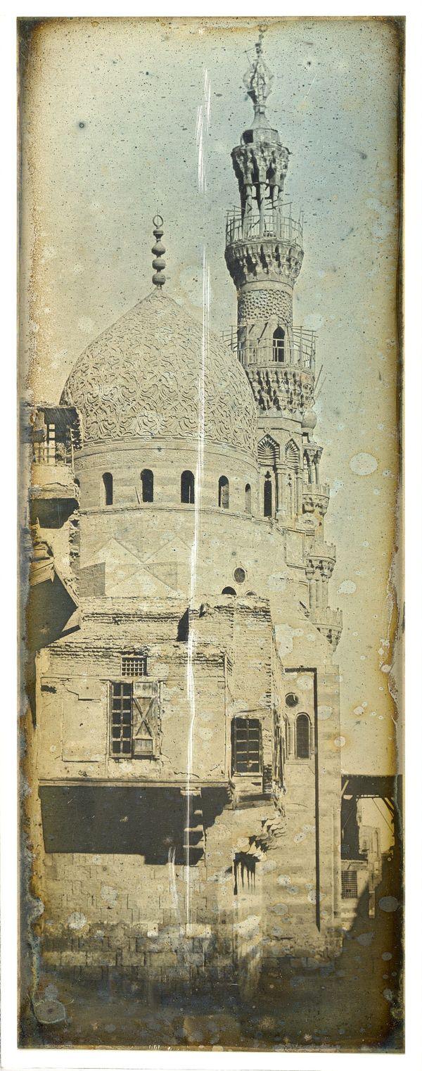 Ce daguerréotype a été réalisé en 1843 par Joseph Girault de Prangey au Caire.