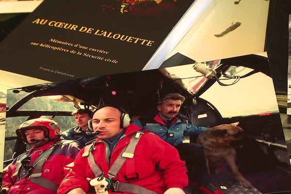 Francis Delafosse a été mécanicien d'équipage dans le groupement d'hélicoptères de la Sécurité civile pendant plus de 35 ans.