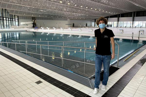 Audrey Chazerand, directrice de l'UCPA sport station, le complexe aqualudique de Reims