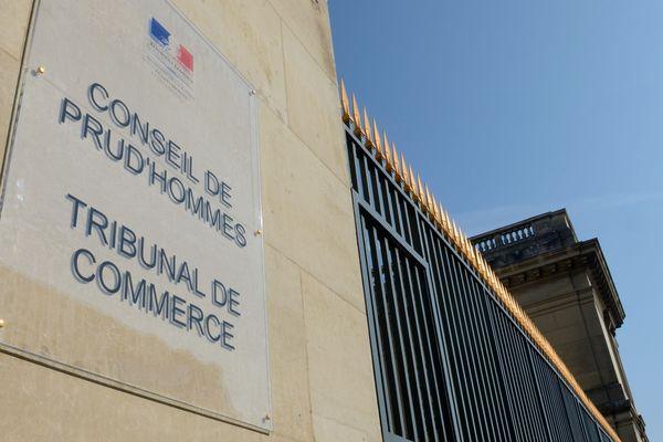 Le conseil des prud'hommes d'Amiens, en 2013.