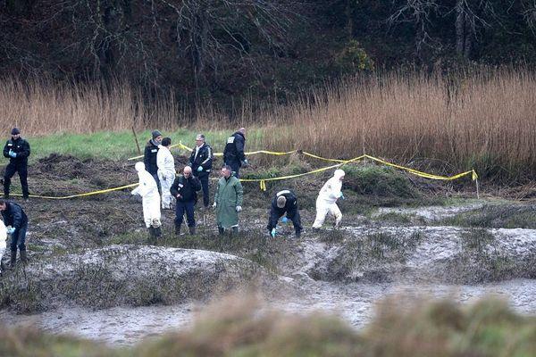 Les enquêteurs ont trouvé de nouveaux restes humains et des objets volés dans la maison d'Orvault dans le parc de 32 hectares entourant la ferme d'Hubert Caouissin.