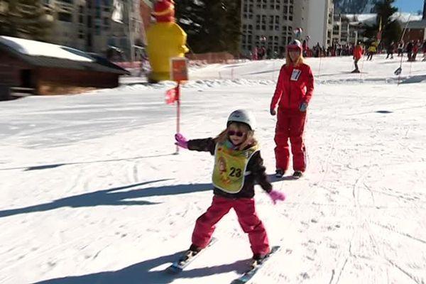Du Piou Piou à l'étoile, ces skieurs en herbe passent tous les niveaux
