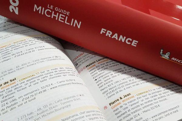 Photo d'illustration du Guide Michelin 2019.