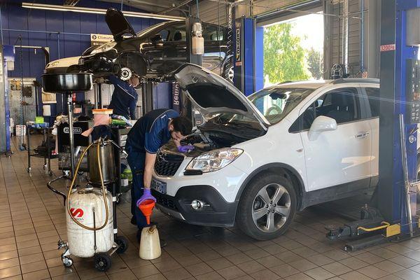 L'atelier Norauto de Lescar en Béarn au service des personnels soignants
