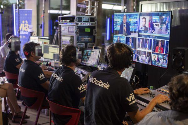 Les salariés de Vià Occitanie sont toujours dans l'incertitude quant à l'avenir de leur chaîne.