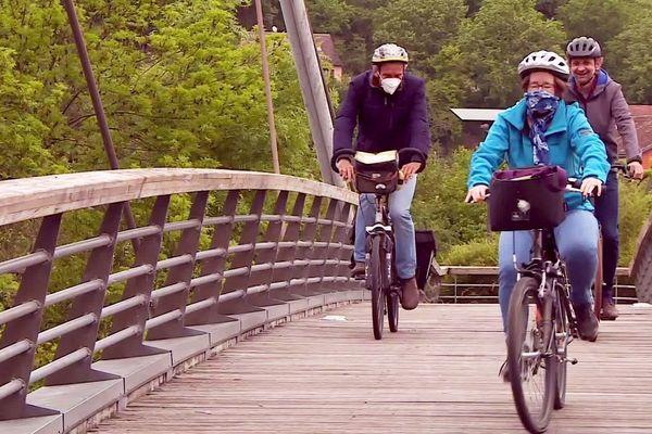 Les cyclistes n'ont plus le droit, même en se déplaçant légitimement, d'emprunter la voie verte à Périgueux, au grand dam de l'association cycliste Vélorution