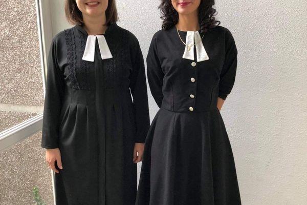 Les robes pastorales de Virginie Faux.
