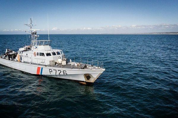 Le patrouilleur côtier de la gendarmerie maritime (PCG) Aramis a récupéré les neuf migrants à son bord (image d'archive).