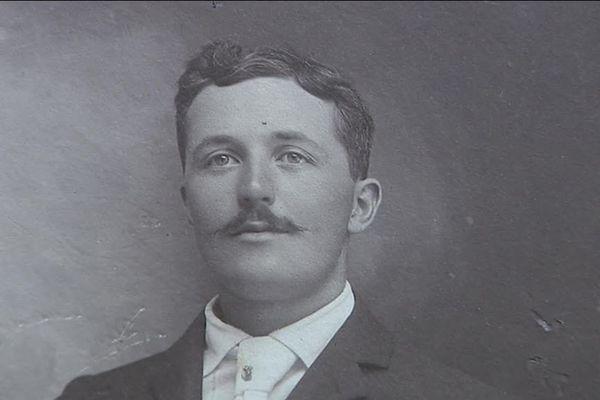 François Aubry, du 1er RA de Bourogne tué en 1914