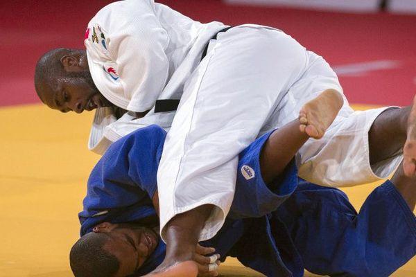 Teddy Riner, lors des Mondiaux de judo, à Marrakech, le 11 novembre 2017.