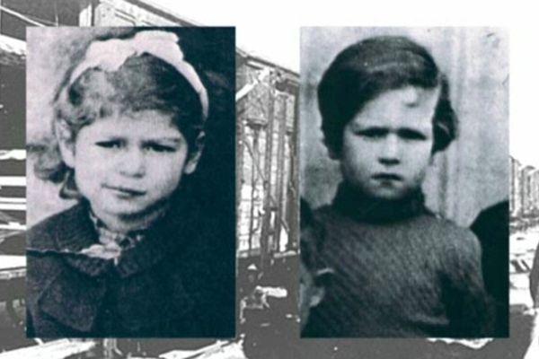 Rolande et Marcel, 6 et 8 ans