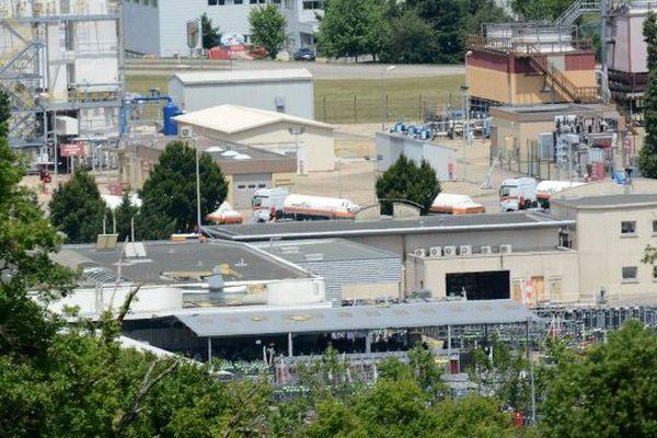 L'entreprise, cible d'un attentat, le 26 juin 2015, à Saint-Quentin-Fallavier, en Isère.