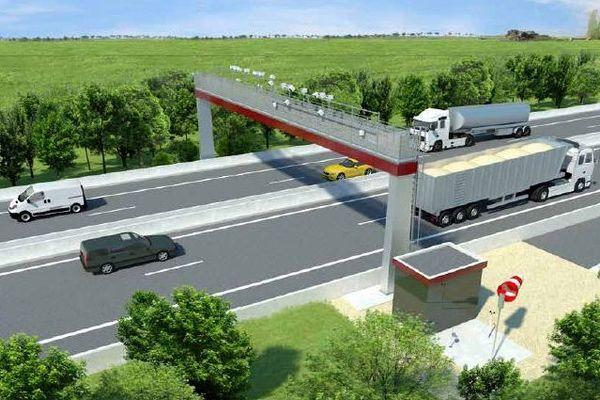 Des portiques et plus de péages le long de la RCEA lorsqu'elle passera en 2X2 voies dans l'Allier, l'autoroute A79 sera payante mais sans barrière.