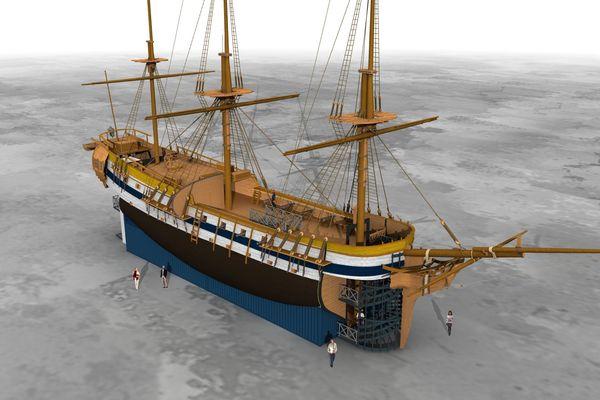 """Voici à quoi va ressembler ce bateau qui pourra """"amarrer"""" sur tout les lieux qui décideront de l'accueillir"""