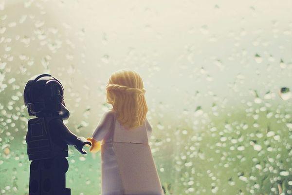 Gris et pluvieux