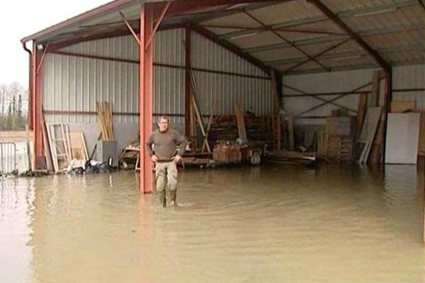 Le Bas Adour reste inondé