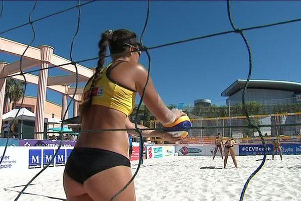 Le Beach Masters de Montpellier, à Odysseum, accueille les meilleurs joueurs et joueuses de la planète