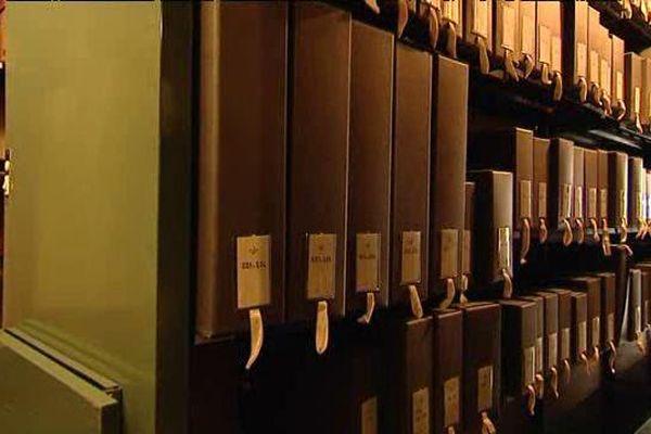 Couloirs des archives départementales du Loiret