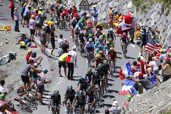 Le Tourmalet, un classique du Tour de France.