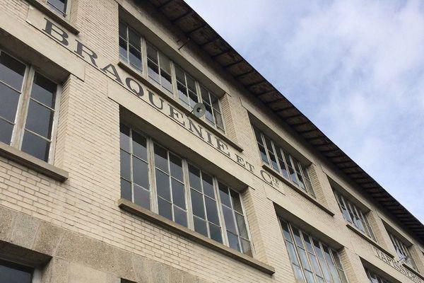 La manufacture Braquenié d'Aubusson qui a fermé ses portes en 1992