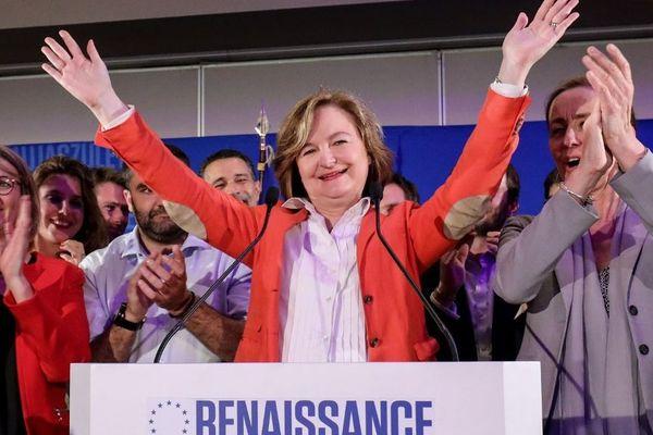 Nathalie Loiseau, tête de la liste de La République en Marche aux européennes.