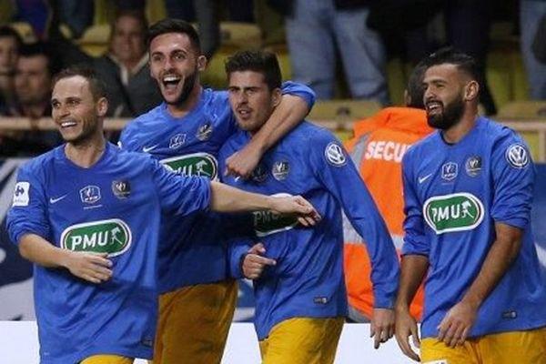 Les joueurs de Saint-Jean de Beaulieu ont tout de même inscrit deux buts face à l'As Monaco