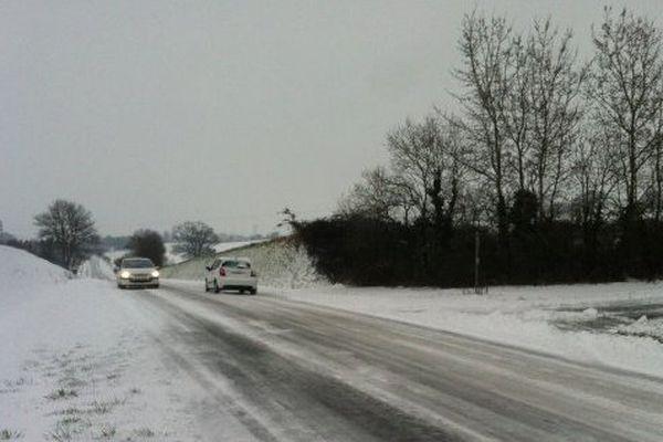 La neige devrait tombe en abondance (8 à 10 cm) notamment sur le nord du Maine