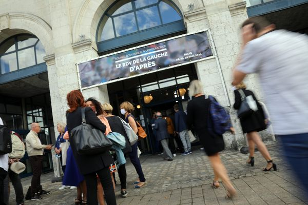 """L'université d'été du PS, le """"Rendez-vous de la gauche d'après"""", se tenait à Blois du 28 au 30 août"""