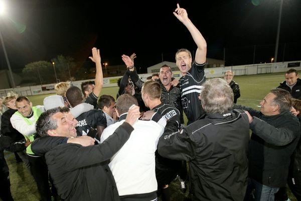 Après avoir accédé au championnat de National l'an dernier, le CA Bastia s'offre son ticket pour la Ligue 2