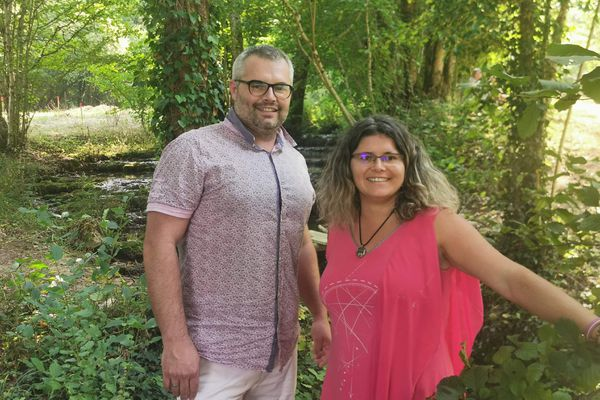A une dizaine de jours de la clôture du concours, Jérôme Nicolas et Christelle Delacour sont en tête des votes pour leur projet de réhabilitation du domaine du Moulin de Trimeule.
