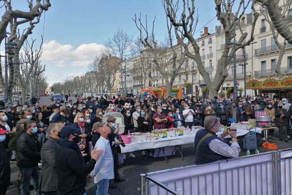 150 forains réunis ce samedi sur les Allées Paul Riquet à Béziers.