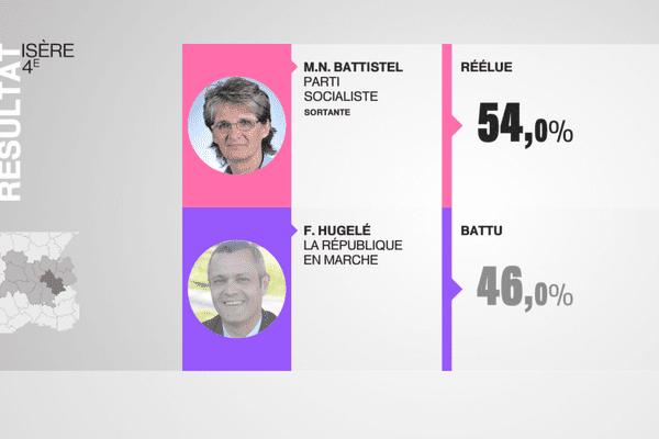 4e circonscription de l'Isère