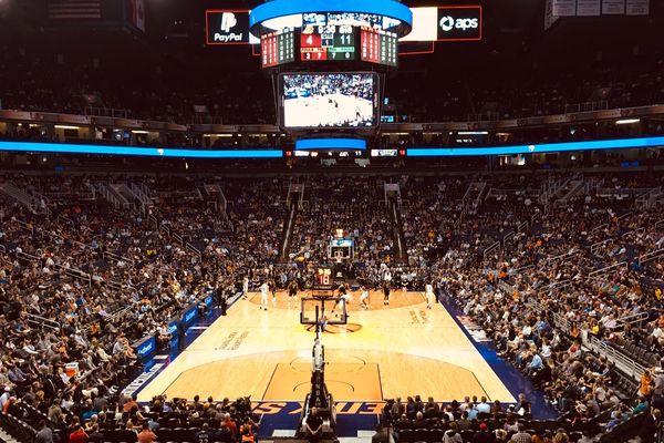 L'antre des Phoenix Suns : la Talking Stick Resort Arena