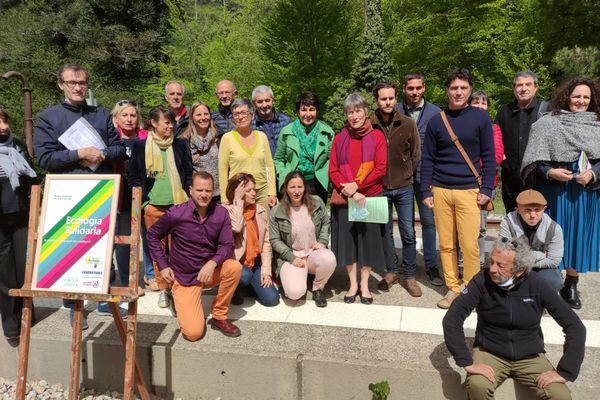 La liste Ecologia Sulidaria a été dévoilée ce mercredi 12 mai à Vizzavona.