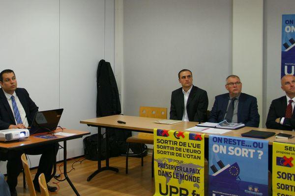 De gauche à droite JC Loutre, L. Montaron, C. Mace et R. Portier.