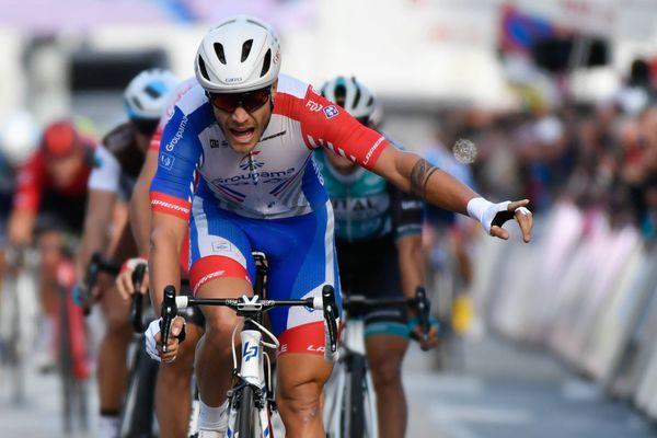 Tour cycliste de Vendée, la victoire de Marc Sarreau, le 6 octobre 2019