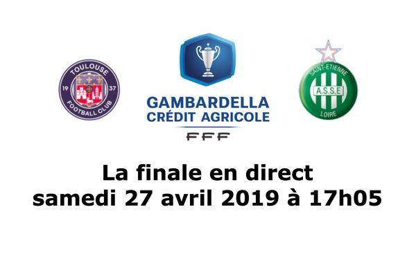 Suivez en direct la finale de la Coupe Gambardella 2019 qui oppose Toulouse à Saint-Etienne sur le site internet de France 3 Auvergne-Rhône-Alpes, samedi 27 avril à 17h05.
