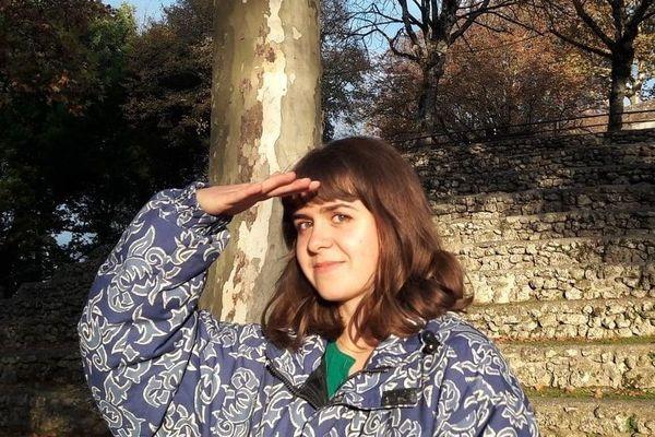 Coline Hégron, dessinatrice de BD primée à Angoulême