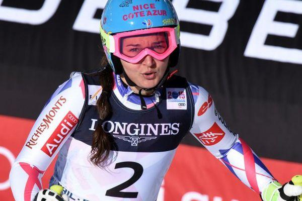 Margot Bailet est devenue championne de France de descente de ski alpin.