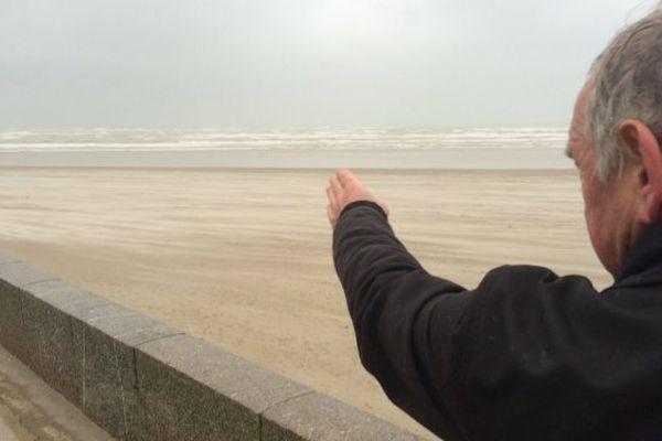 La plage de Berck où le corps de la fillette a été retrouvé.