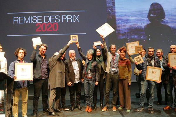 Les lauréats de l'édition 2020 du Figra au Touquet.