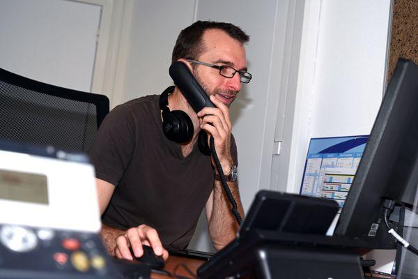 Mickaël, le présentateur