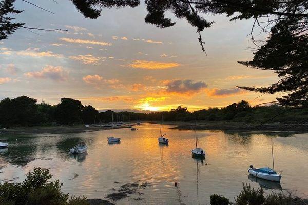 Un petit paradis finistérien pour y passer ses vacances : l'anse du Minaouët à Tregunc (29)