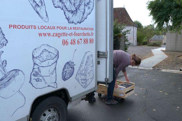 """Le camion de """"Cagette et fourchette"""""""