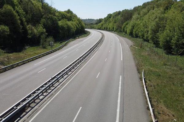 L'autoroute A36 reste très peu fréquentée. Ce sont surtout les routiers qui l'empruntent.